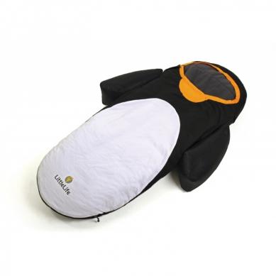 LittleLife - Łóżeczko turystyczne ze Śpiworem Pingwin