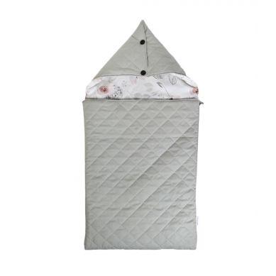 Muzpony -  Śpiworek z Kapturem do Łóżeczka/Gondoli Wózka Mangolia 60 cm