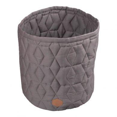 Filibabba - Pojemnik Materiałowy na Zabawki Dark Grey