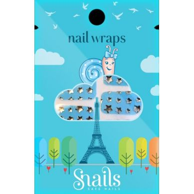 Snails - Naklejany Lakier Wraps Blue Stars