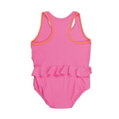 Lassig - Kostium do Pływania Jednoczęściowy z Wkładką Chłonną Light Pink UV 50+ 24m