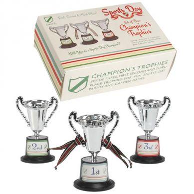 Rex - Zestaw 3 Pucharów Sportowych