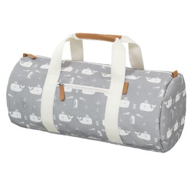 Fresk - Torba Weekend Bag Wieloryb Dawn Grey