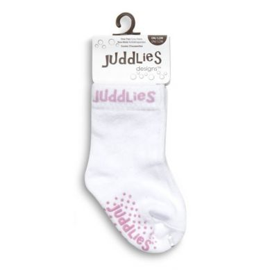Juddlies - Skarpetki White/Purple 12-24m