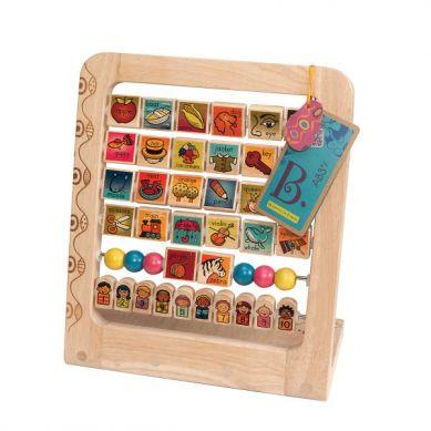 B. Toys - Drewniany Stojak Alfabet i Liczby