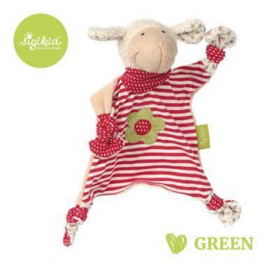 Sigikid - Przytulaczek – komforter Owieczka Kolekcja Ekologiczna Green