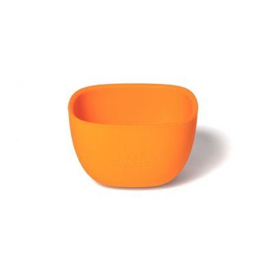 Avanchy - La Petite Silikonowa Miseczka dla Dziecka 4m+ Orange