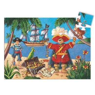 Djeco - Puzzle Pirat 36el.