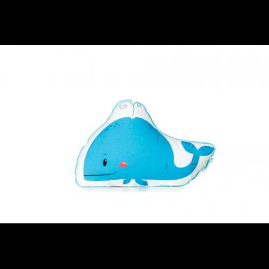 Lamps&co. - Poduszka Ozdobna Morska Przygoda Wieloryb