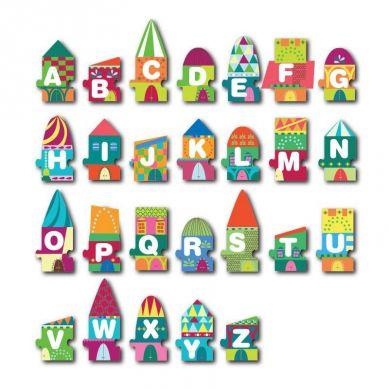 Apli Kids - Puzzle w Kartonowym Domku Litery 3+