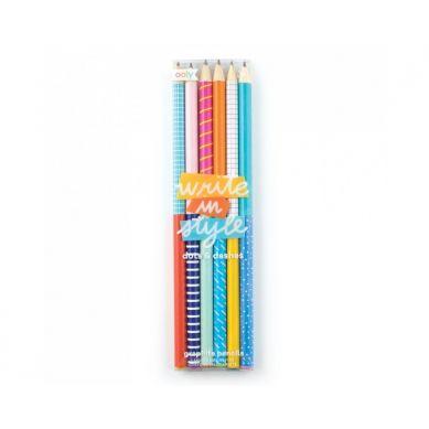Ooly - Zestaw Ołówków Pisz Stylowo 6szt