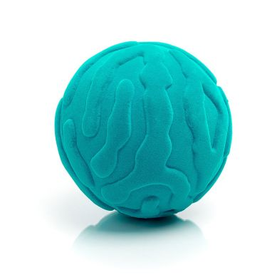 Rubbabu - Piłka Sensoryczna z Delikatną Fakturą Meduza Turkusowa