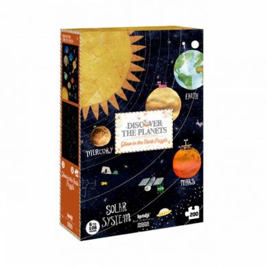 Londji - Puzzle Mapa Odkryj Planety