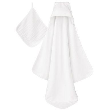 aden + anais - Zestaw Ręcznik i Myjka Water Baby