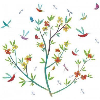 Djeco - Naklejki Ścienne Kwiaty Wiosny