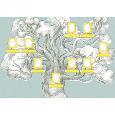 Zuzu Toys - Moja Rodzina Drzewo Genealogiczne