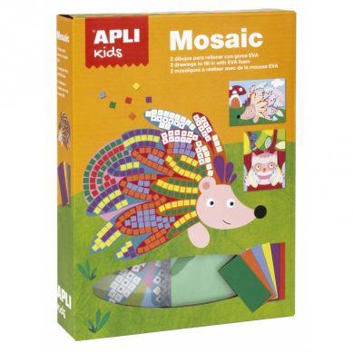 Apli Kids - Zestaw Artystyczny Mozaika Zwierzęta