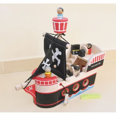Indigo Jamm - Drewniany Statek Piracki Jolliego Jacka