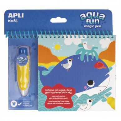 Apli Kids - Kolorowanka Wodna Morze
