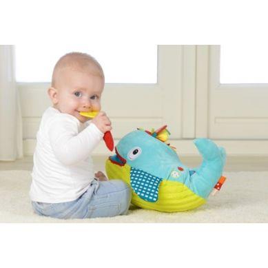 Dolce - Zabawka dla Niemowląt Ucz się i Baw Wieloryb