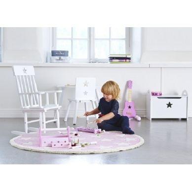 Kids Concept - Cymbałki Gwiazdki Różowe