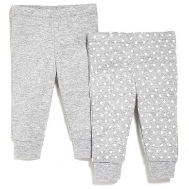 Skip Hop - Spodnie 2szt. Grey 6 miesięcy