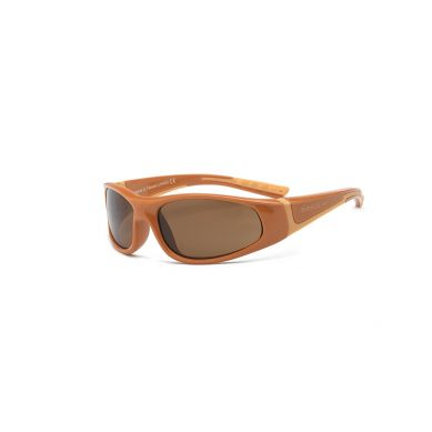 Real Kids - Okularki dla Dzieci Bolt Polarized Brown and Orange 7+