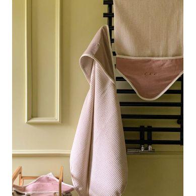Muzpony - Duży Ręcznik Kąpielowy z Kapturem Rose 140x70 cm