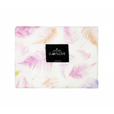 Lullalove - Otulacz bambusowy 100x100 cm Koralowy Róż