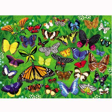 Crocodile Creek - Puzzle 300el. Motyw Motyle