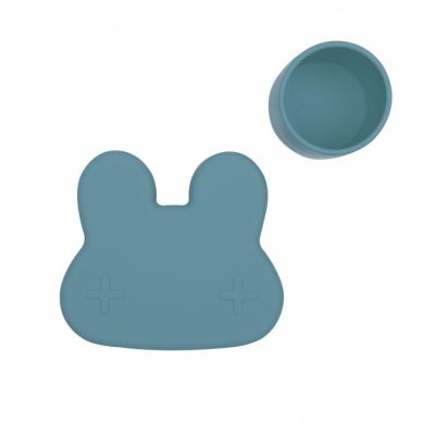 We Might Be Tiny - Zamykany Pojemnik Silikonowy Króliczek Blue Dusk