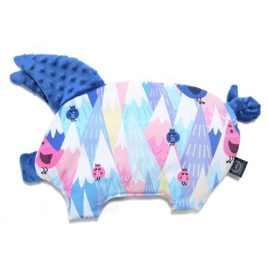 La Millou - Podusia do Wózka Sleepy Pig Mili Vanili Electric Blue