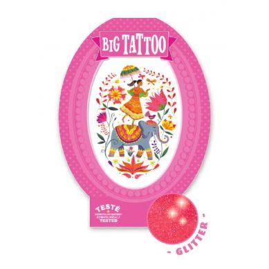 Djeco - Tatuaż Róża Indii