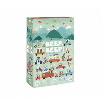 Londji - Puzzle dla Dzieci Beep Beep 3+