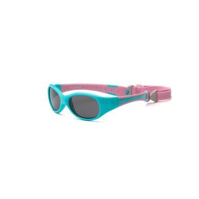 Real Kids - Okularki dla Dzieci Explorer Aqua and Pink 0+