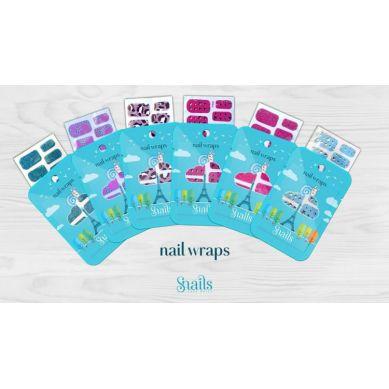 Snails - Naklejany Lakier Wraps Turquoise