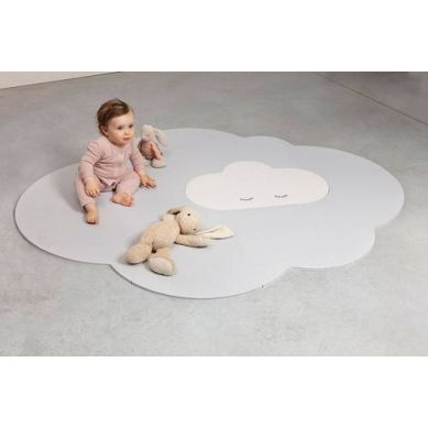 Quut - Mata do Zabawy Piankowa Podłogowa Duża Chmurka Playmat Pearl Grey