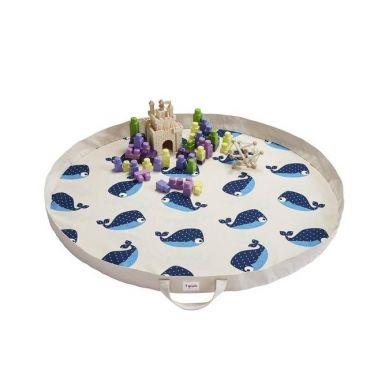3 Sprouts - Mata na Zabawki Wieloryb Niebieski