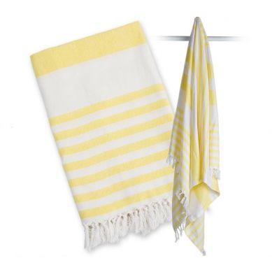 Lulujo - Ręcznik Turecki 3 w 1 Sunshine Yellow