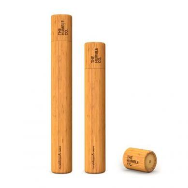 Humble Brush - Etui na Szczoteczkę do Zębów z Drzewna Bambusowego Kids dla Dzieci