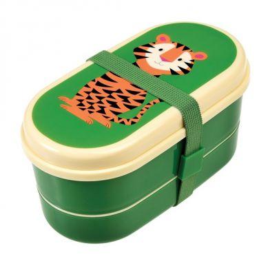 Rex - Dwupoziomowy Lunchbox Tiger