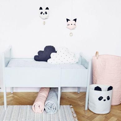Liewood - Kosz na Zabawki Panda Creme de la Creme