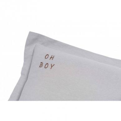 Malomi Kids - Poduszka Oh Boy Washed Grey XL
