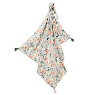 La Millou - Otulacz Bambusowy Mgiełka Fringe - King Size - Blooming Boutique