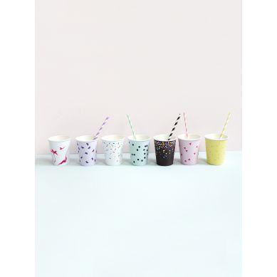 Moon Picnic - Zestaw 7 Kubeczków Papierowych Ice Cream
