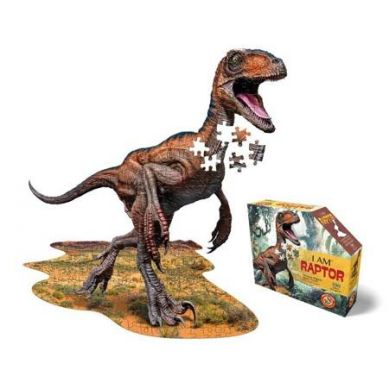 Madd Capp - Puzzle Konturowe I AM Raptor 100 elem. 5+