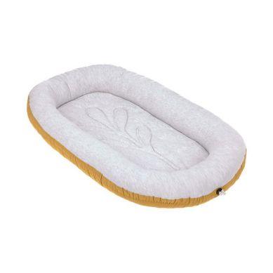 Lassig - Kokon Niemowlęcy Dwustronny Cozy Home Baby Nest Musztardowy
