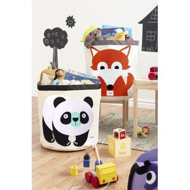 3 Sprouts - Kosz na Zabawki Panda