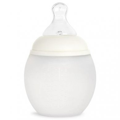 Elhee - Miękka Butelka Antykolkowa Milk 150ml + Smoczek 0-3m Medium Flow