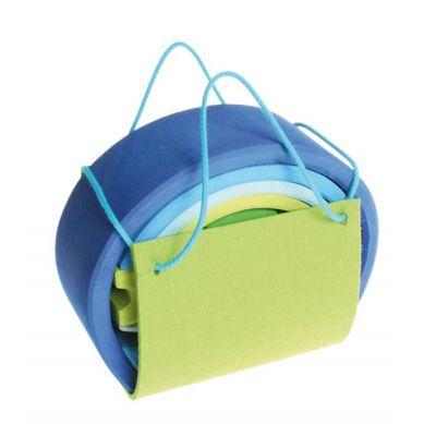 Grimm's - Mobilny Dom Niebiesko-Zielony 3+